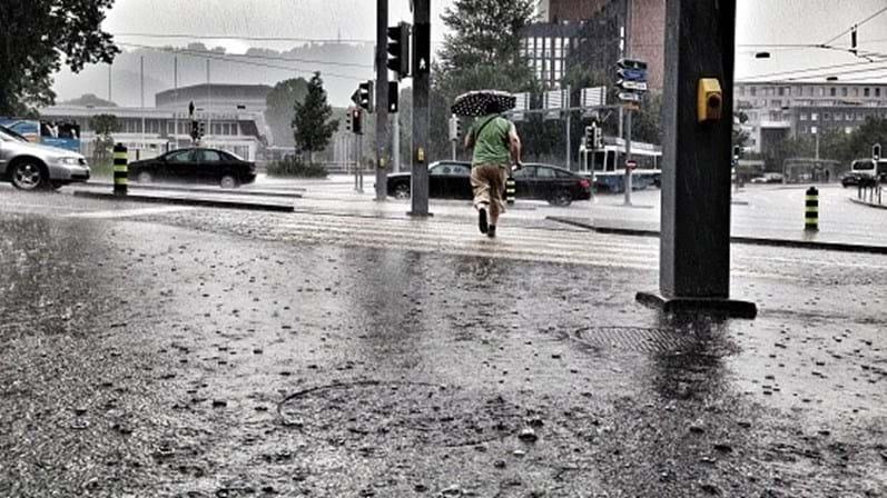 Carnaval com chuva e frio
