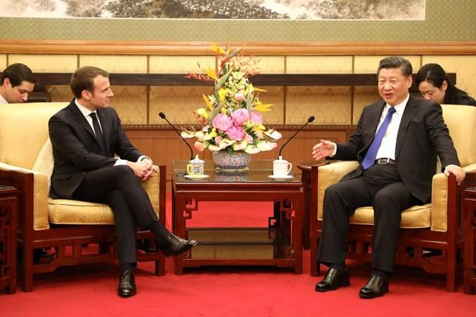 China encomenda 184 aviões da Airbus, anuncia presidente da França