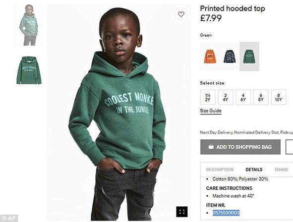 Mãe de rapaz comenta fotografia da H&M polémica
