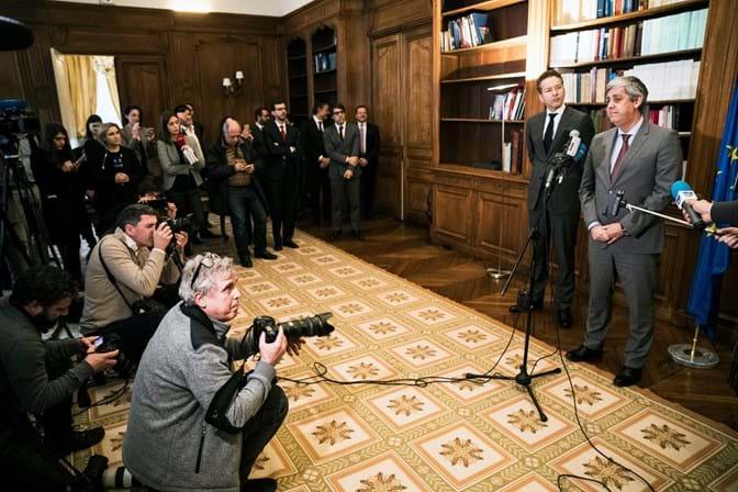Ministro das Finanças português assume liderança do Eurogrupo