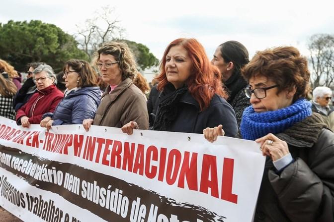 Vieira da Silva atento à situação das trabalhadoras da antiga Triumph