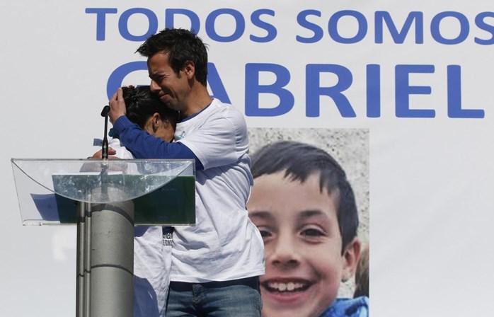 Gabriel Cruz morreu estrangulado no dia em que desapareceu