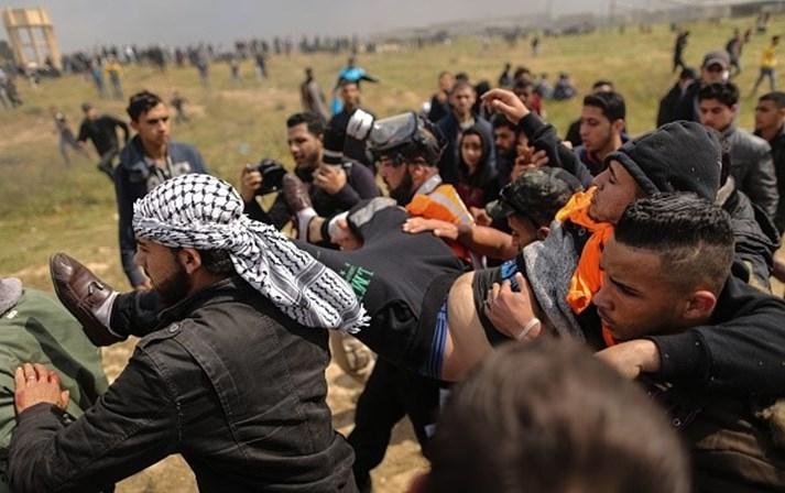 Pelo menos cinco mortos e mais de 300 feridos — Faixa de Gaza