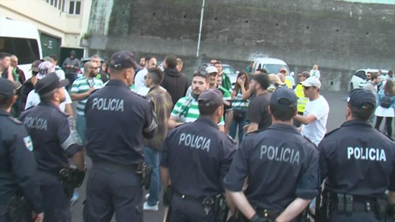 Jogadores do Sporting insultados na Madeira