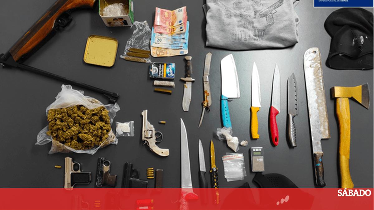Nove elementos de gangues juvenis detidos em megaoperação da PSP de Oeiras - Revista Sábado