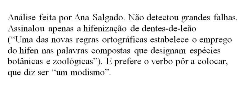 Quando Os Escritores Dão Erros De Português Vida Sábado