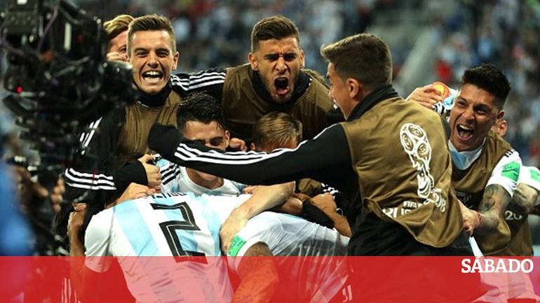 f04f333d44 Argentina vence Nigéria e classifica-se para os oitavos de final - Mundial  2018 - SÁBADO