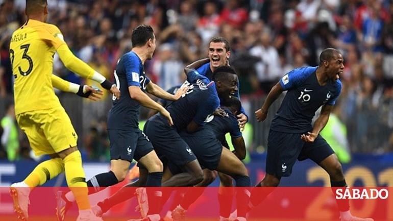 43c89a9183 França venceu a Croácia e tornou-se campeã mundial pela segunda vez - Mundial  2018 - SÁBADO