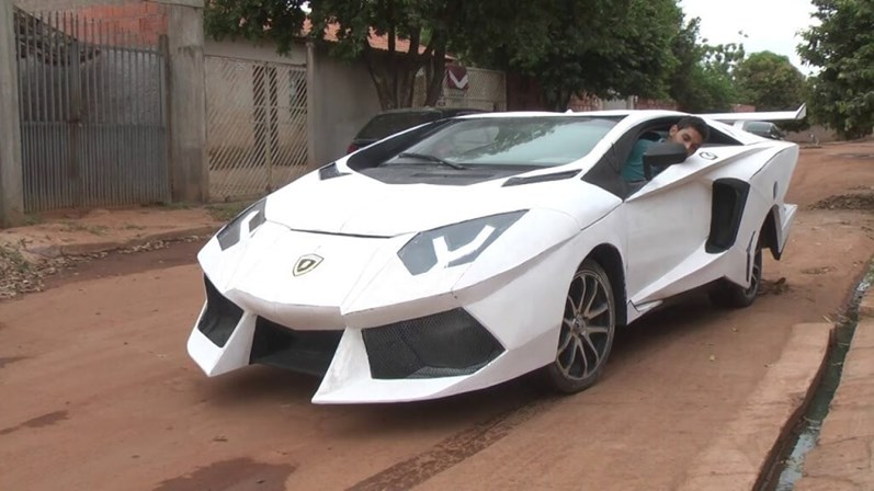 Brasileiro Transformou Fiat Uno Em Lamborghini Veja Como Vida