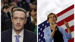 "Mark Zuckerberg: Facebook ""vai ao tapete"" se Elizabeth Warren ""for eleita"""